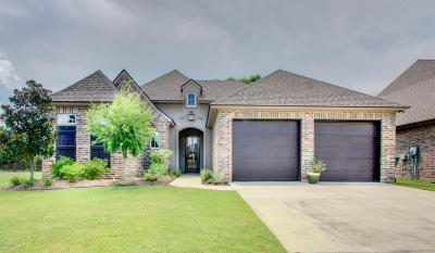broussard Single Family Home Active/Contingent: 106 Meadowbrook Drive