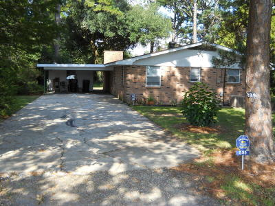 Jeanerette Single Family Home For Sale: 599 Katherine