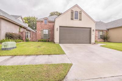 Lafayette Single Family Home For Sale: 242 Chimney Rock Boulevard