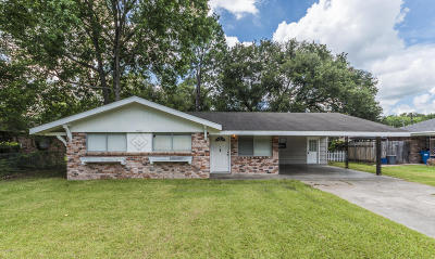Lafayette Single Family Home For Sale: 103 Wakefield Drive