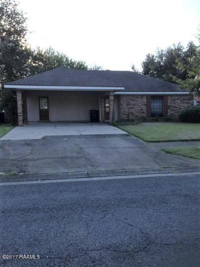 Lafayette Single Family Home For Sale: 408 Golden Fields Drive