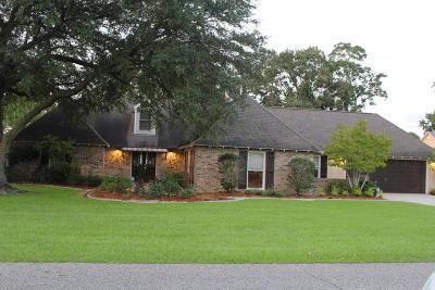 Lafayette Single Family Home For Sale: 645 Bellevue Plantation