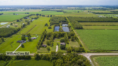 Acadia Parish Residential Lots & Land For Sale: 1375 Willow Cove (Hwy 1098)