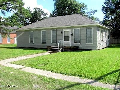 Jeanerette Single Family Home For Sale: 1319 Church Street