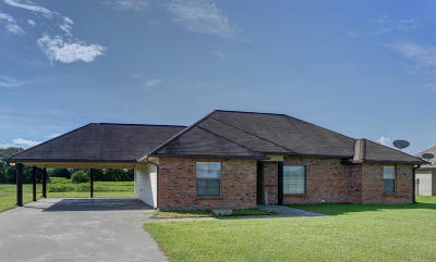 St. Martinville Single Family Home For Sale: 1062 Jordan Drive
