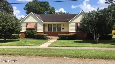 Vermilion Parish Single Family Home For Sale: 503 N Lyman Street