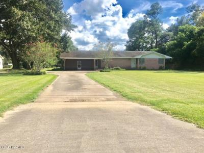 Abbeville Single Family Home For Sale: 2844 Veterans Memorial Drive
