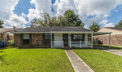 Lafayette Single Family Home For Sale: 310 Toulouse Dr.