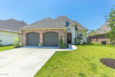 broussard Single Family Home For Sale: 302 Old Cypress Drive