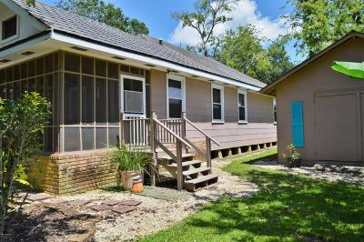 Erath Single Family Home Active/Contingent: 5717 Debuse Road
