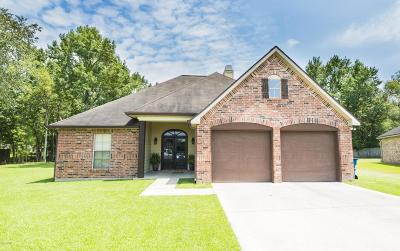 Lafayette Parish Single Family Home For Sale: 107 Spring Lake Circle