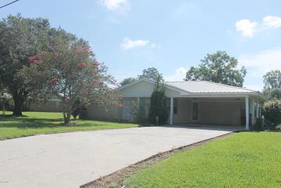 Port Barre Single Family Home For Sale: 172 Saizan Avenue