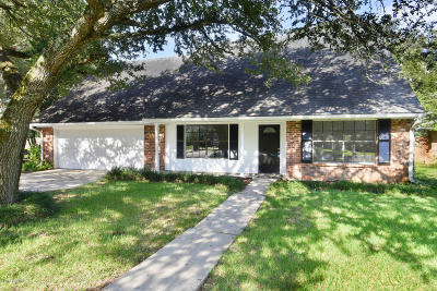Lafayette LA Single Family Home For Sale: $225,000