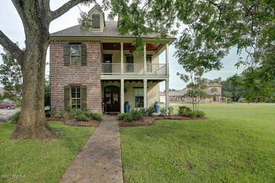 Broussard Single Family Home For Sale: 301 Opus One