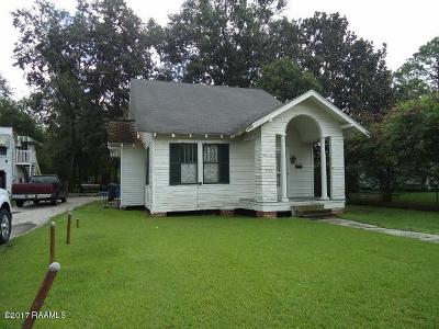 Franklin Single Family Home For Sale: 704 Iberia