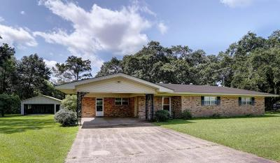 Jeanerette Single Family Home For Sale: 10877 Hwy 87