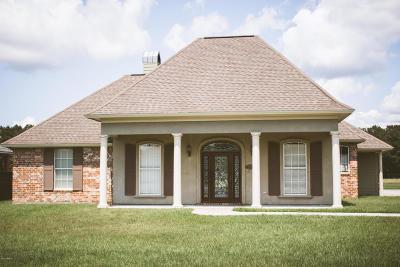 St Martinville, Breaux Bridge, Abbeville Single Family Home For Sale: 8914 Oak Creek Lane