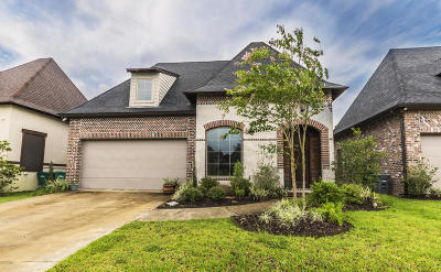 Broussard Single Family Home For Sale: 138 Heathwood