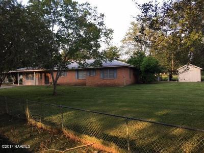 Port Barre Single Family Home For Sale: 184 Railroad Avenue