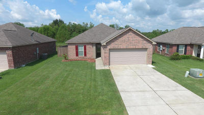 Carencro Single Family Home For Sale: 111 Sunny Oak Trail