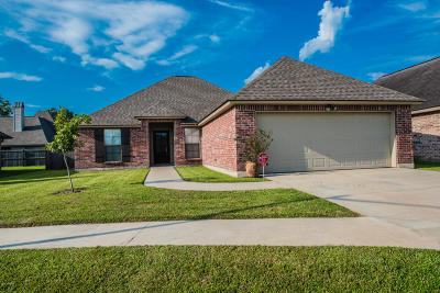 Carencro Single Family Home For Sale: 104 Wing Span Cove