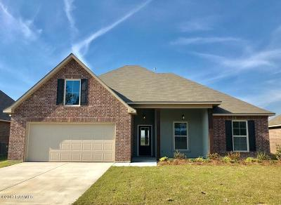 Youngsville Single Family Home For Sale: 117 St. Lucius Street