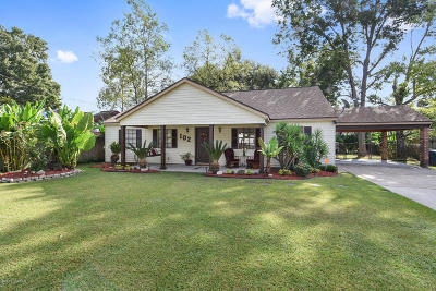 Lafayette LA Single Family Home For Sale: $168,500