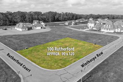 Lafayette Residential Lots & Land For Sale: 100 Rutherford Court