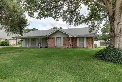 New Iberia Single Family Home For Sale: 610 Oak Manor Drive