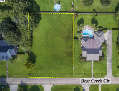 St Martin Parish Residential Lots & Land For Sale: Lot 16 Bear Creek Circle