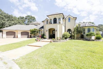 Lafayette Single Family Home For Sale: 142 Keith David Drive