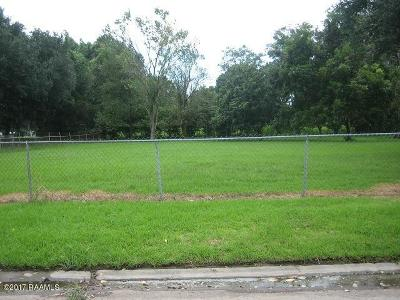 Iberia Parish Residential Lots & Land For Sale: Richelieu Circle