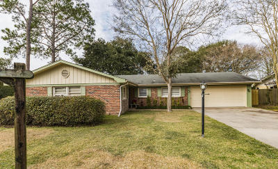 New Iberia Single Family Home For Sale: 128 Plantation Drive