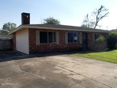 Carencro Single Family Home For Sale: 131 Brockton Drive