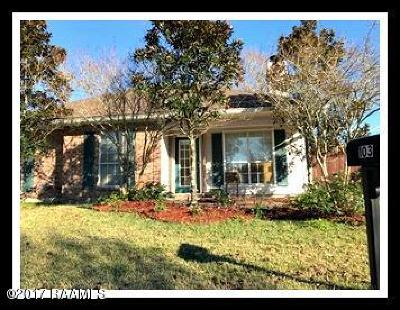 Lafayette Single Family Home For Sale: 103 Elsinore Circle