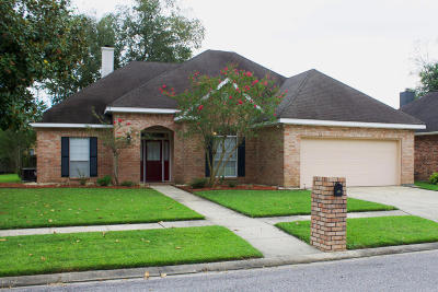 Lafayette Parish Single Family Home For Sale: 408 Willow Bend
