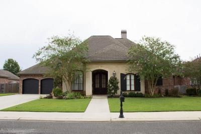 Lafayette Single Family Home For Sale: 305 Ambergris Lane