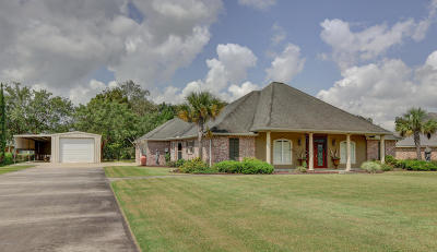 New Iberia Single Family Home For Sale: 4014 Stelly Road