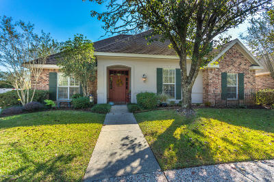 Broussard Single Family Home For Sale: 202 Troon Drive
