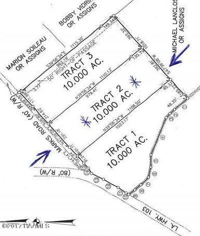 St Landry Parish Farm For Sale: 00 Marks Rd