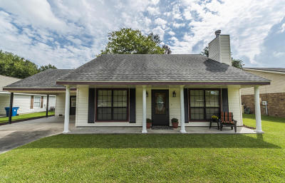 Carencro Single Family Home For Sale: 124 Satinwood Drive