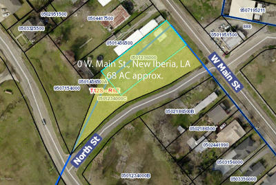 Iberia Parish Residential Lots & Land For Sale: W Main Street