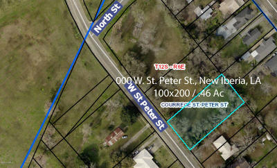 Iberia Parish Residential Lots & Land For Sale: W St Peter Street