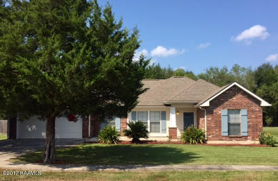 Carencro Single Family Home For Sale: 119 Jace