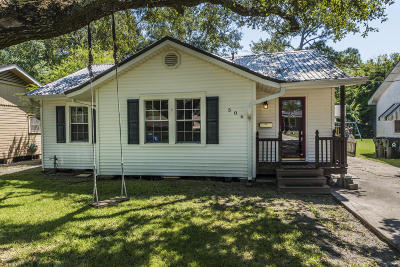 New Iberia Single Family Home For Sale: 506 Everette Street
