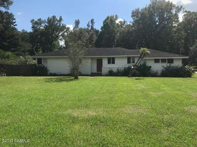 Abbeville Single Family Home For Sale: 703 Perry Drive