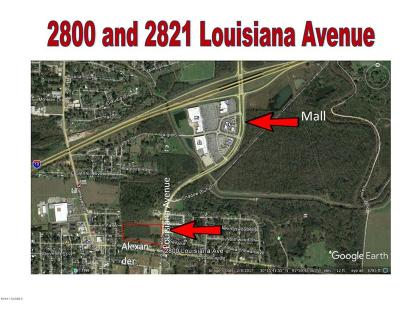 Commercial Lots & Land For Sale: 2800 Louisiana Avenue