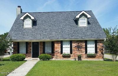 Lafayette LA Single Family Home For Sale: $165,000