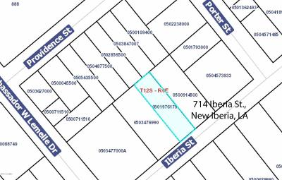 Iberia Parish Residential Lots & Land For Sale: 714 Iberia Street