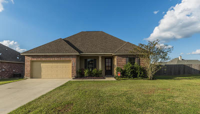 Broussard Single Family Home For Sale: 107 Tunica Bayou Road